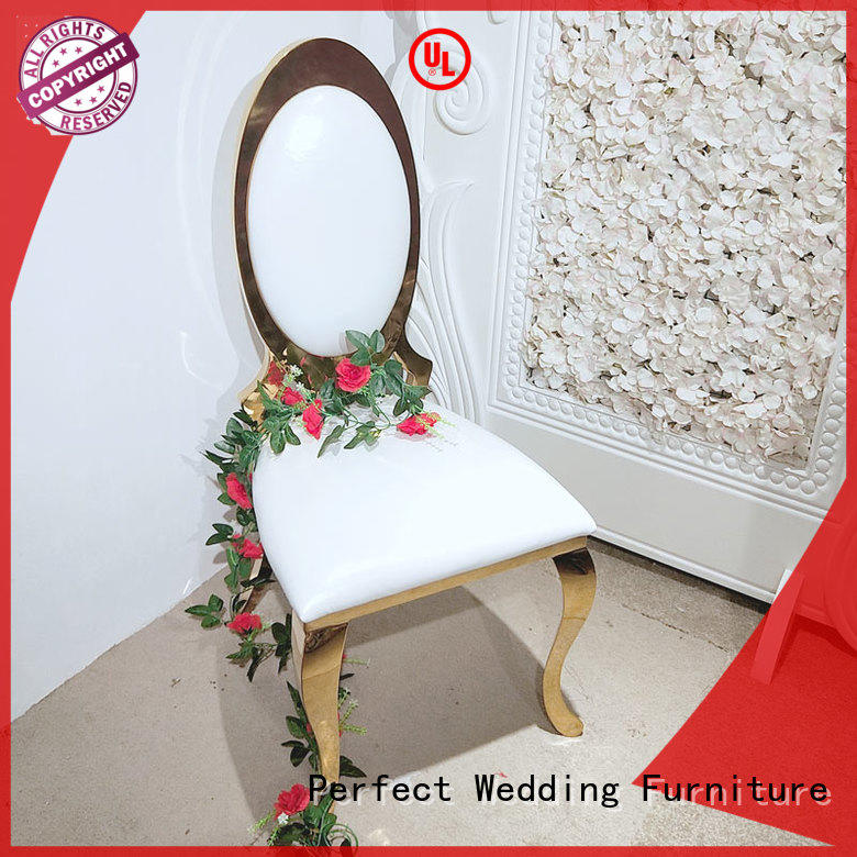 leather bridal chair in the waiting areas for wedding ceremony