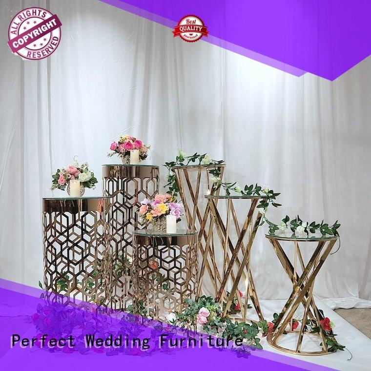 Perfect Wedding Furniture Wholesale flower stand for business for hotel