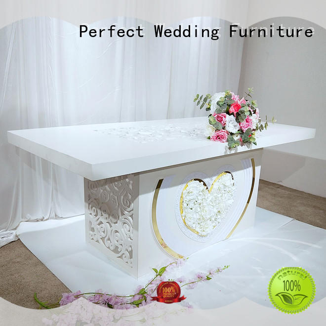 New wedding reception table color company for wedding ceremony