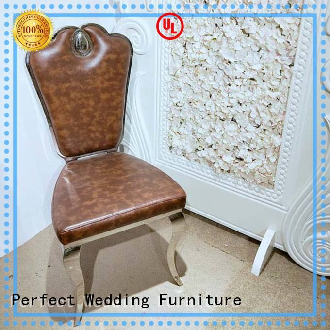 color wedding chairs for bride and groom manufacturer for hotel Perfect Wedding Furniture