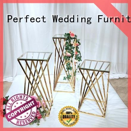 Perfect Wedding Furniture decorative metal flower stand to meet your needs for wedding ceremony