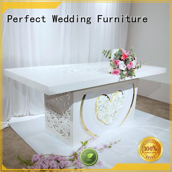 Perfect Wedding Furniture Wholesale wedding display table factory for dining room