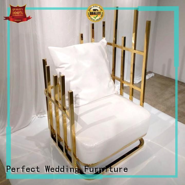 Perfect Wedding Furniture design luxury throne chairs series for wedding ceremony