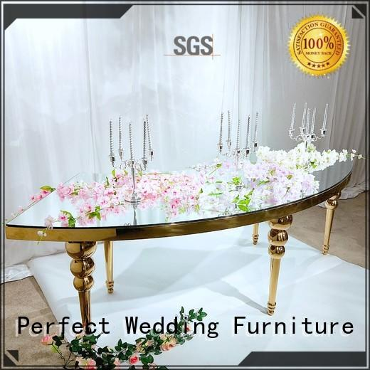 high quality wedding dining table manufacturer for wedding ceremony Perfect Wedding Furniture