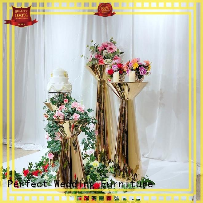 Perfect Wedding Furniture decorative floral stand manufacturer for home