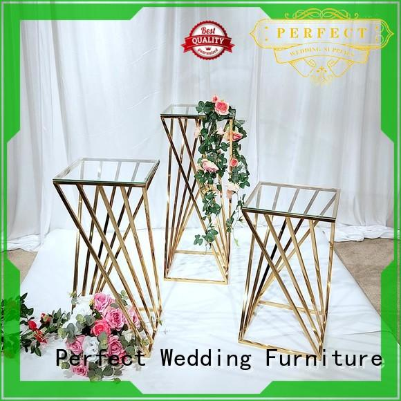 High-quality flower stand glass company for hotel