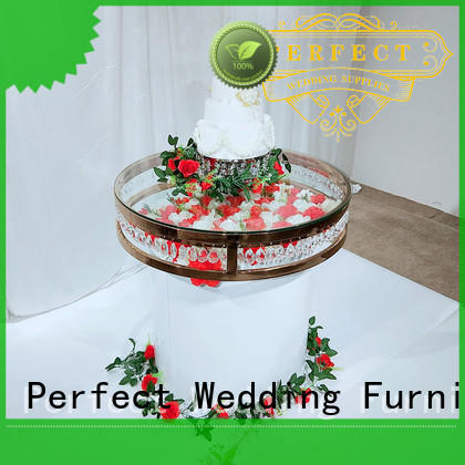 Perfect Wedding Furniture steel flower centerpieces wedding tables Suppliers for dining room