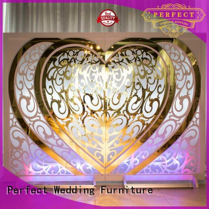 New wedding screen partition pvc factory for home