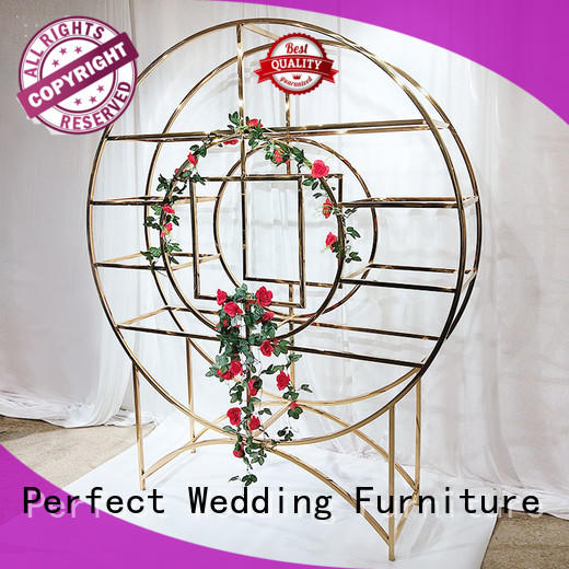 Perfect Wedding Furniture durable display shelves supplier for indoors