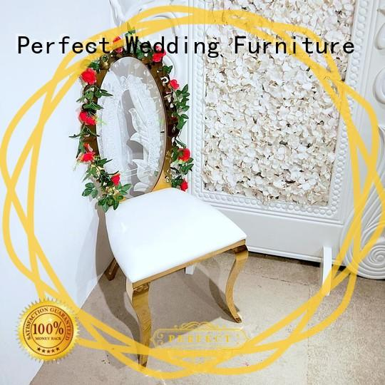 Perfect Wedding Furniture wedding bridal chair Supply for wedding ceremony