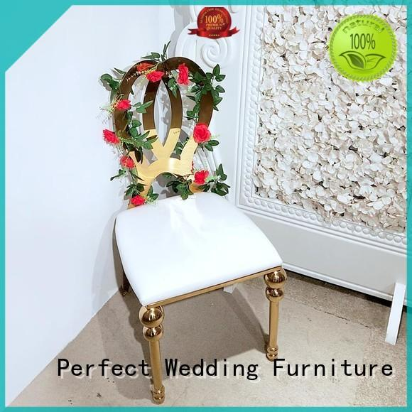 High-quality catering chairs dining Supply for wedding ceremony