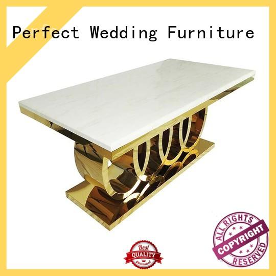 elaborate wedding table dressing round supplier for hotel