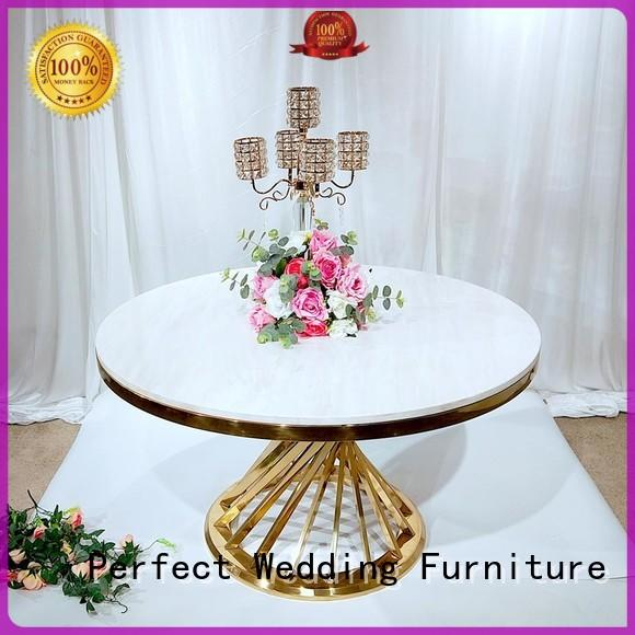 Perfect Wedding Furniture half round wedding tables manufacturer for dining room