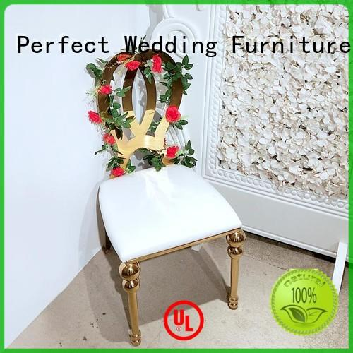 Perfect Wedding Furniture leather best wedding chairs supplier for hotel