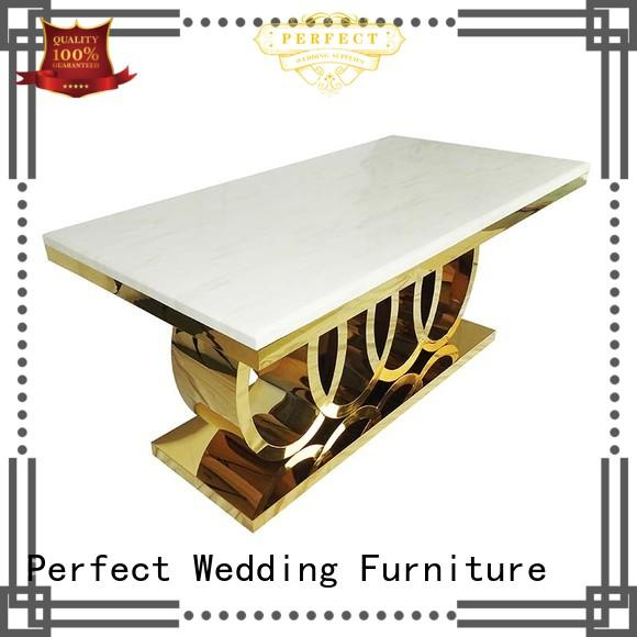 Perfect Wedding Furniture durable top table wedding manufacturer for dining room