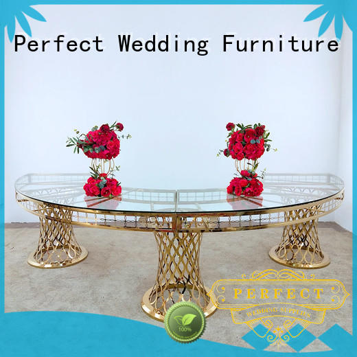 customized top table wedding black with contemporary manufacturing series for wedding ceremony