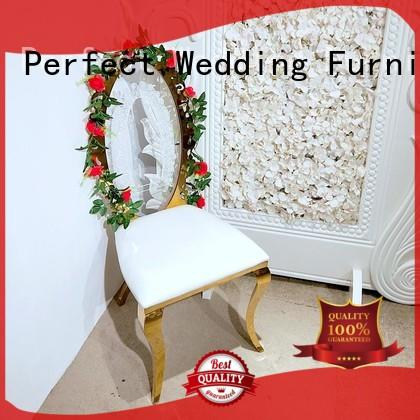 Perfect Wedding Furniture gold wedding reception chairs manufacturers for hotel