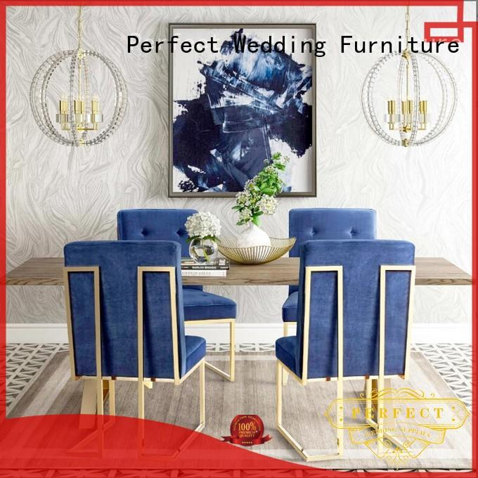 Perfect Wedding Furniture durable king and queen chairs for weddings manufacturer for hotel