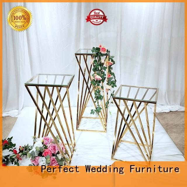 decorative flower stands for wedding aisle stainless with contemporary manufacturing equipment for home