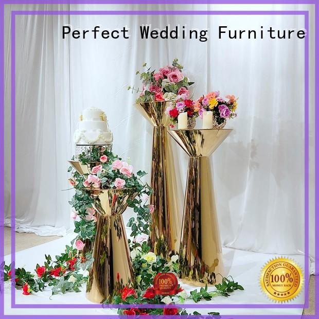 Perfect Wedding Furniture high quality flower stand supplier for hotel