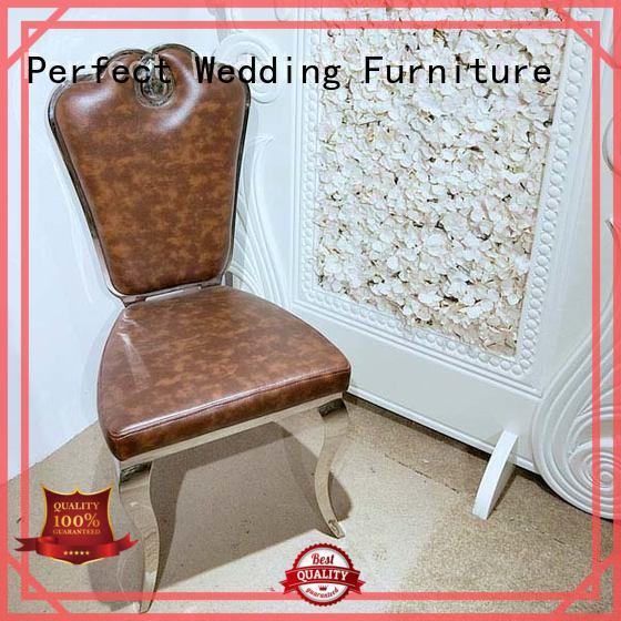 Perfect Wedding Furniture gold bridal chair factory for wedding ceremony
