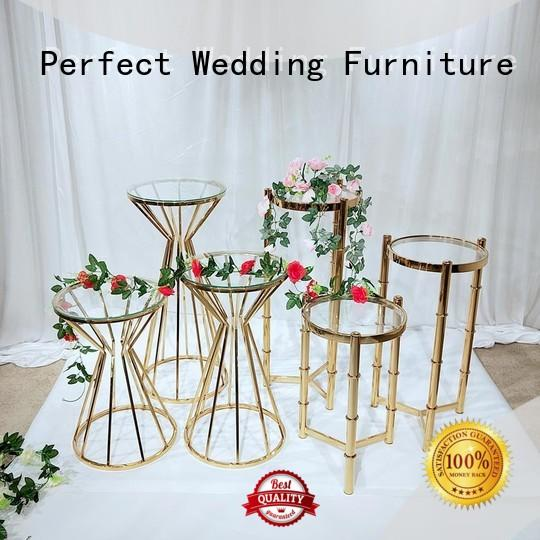 Perfect Wedding Furniture Top flower stands for wedding aisle company for hotel
