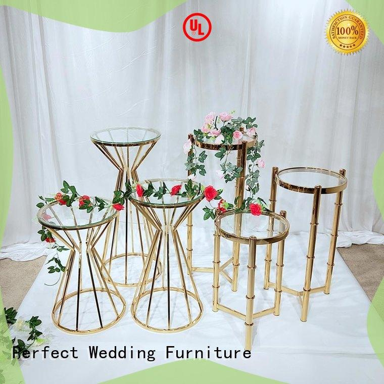 durable wedding centerpiece stands to meet your needs for wedding ceremony