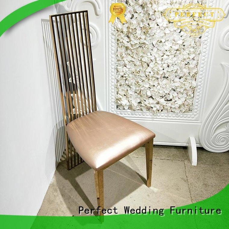 bridal chair laser for hotel Perfect Wedding Furniture
