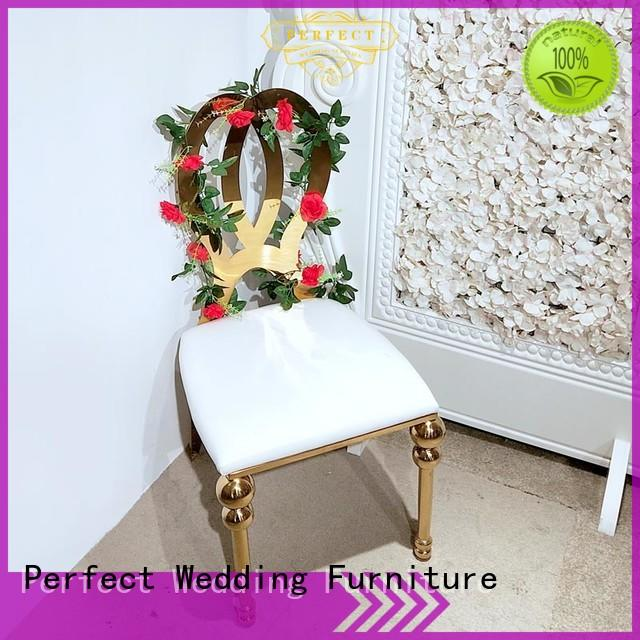 Perfect Wedding Furniture high quality wedding chairs for bride and groom series for wedding ceremony