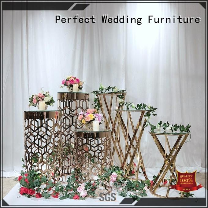 durable tall floral stand to meet your needs for hotel Perfect Wedding Furniture