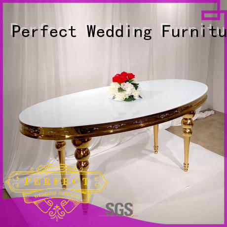perfectly wedding reception dining table manufacturer for hotel Perfect Wedding Furniture