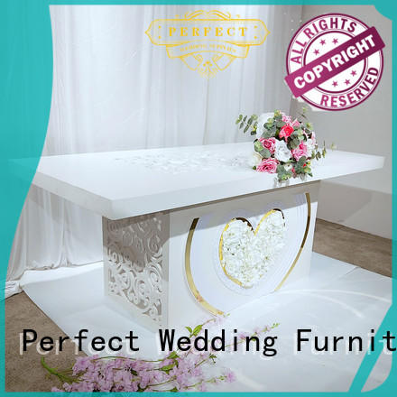 Perfect Wedding Furniture elaborate wedding reception table manufacturer for hotel