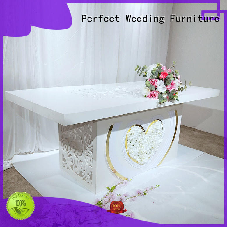 Perfect Wedding Furniture durable wedding display table manufacturer for wedding ceremony