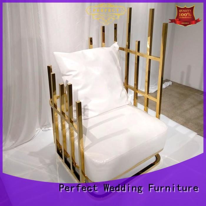Perfect Wedding Furniture color king throne chair to meet your needs for wedding ceremony