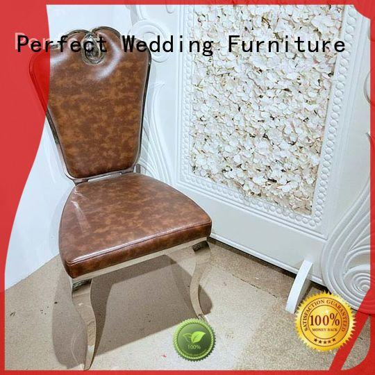 stainless steel wedding chair back to meet your needs for wedding ceremony