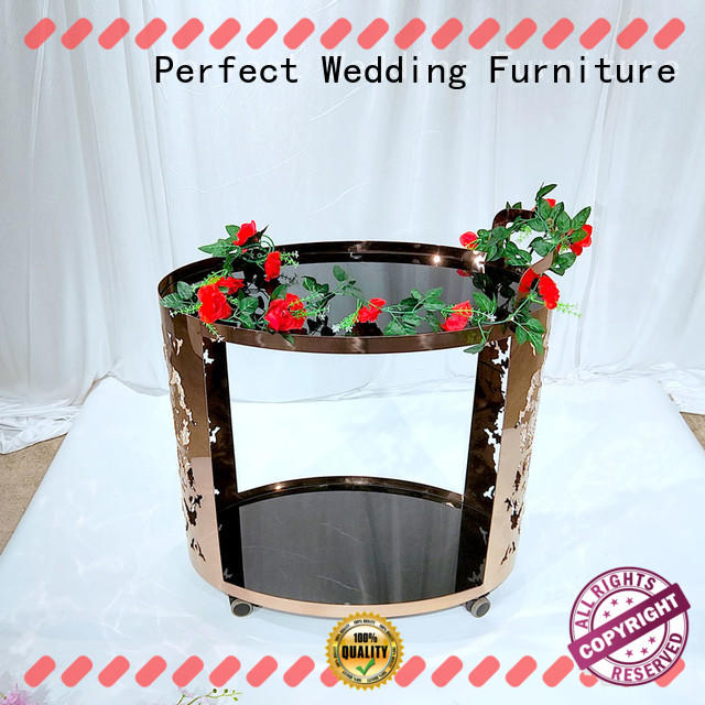 Perfect Wedding Furniture trolley serving cart match your other pieces or just functional for hotel