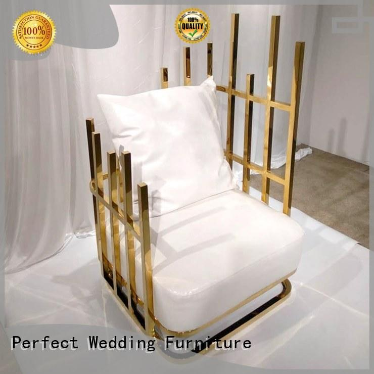 various king and queen chairs nice manufacturer for wedding ceremony