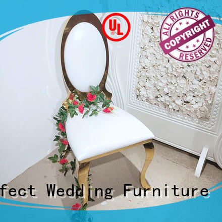 Perfect Wedding Furniture high quality best wedding chairs stainless for hotel