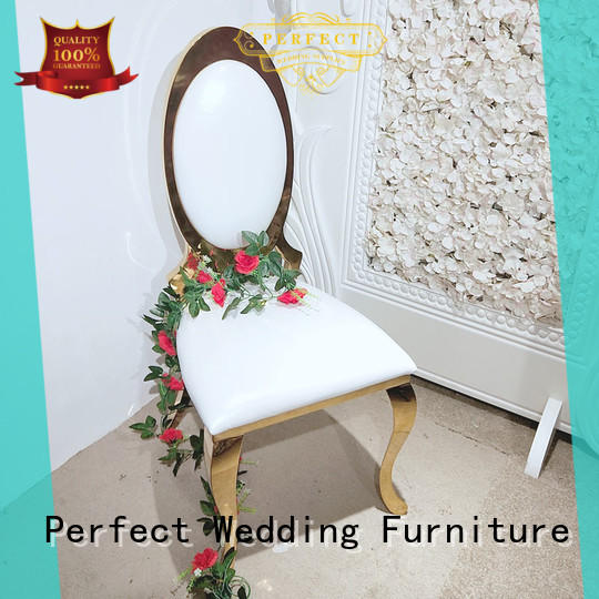 Perfect Wedding Furniture high quality wedding reception chairs supplier for wedding ceremony