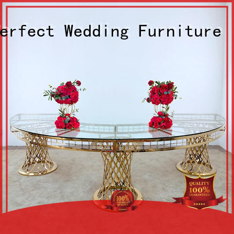 Perfect Wedding Furniture Latest wedding reception table company for dining room