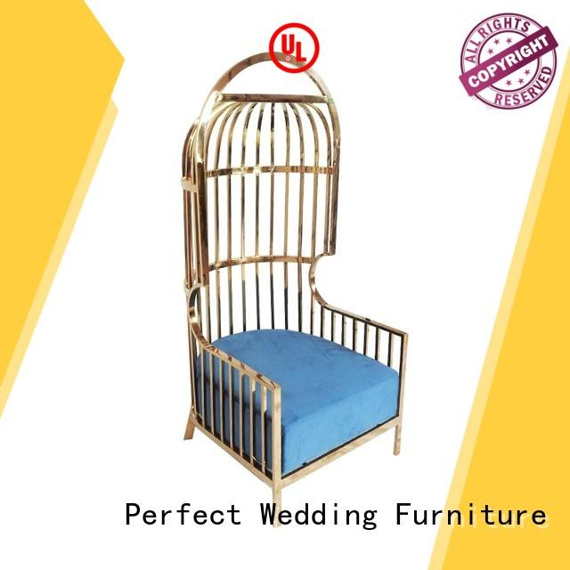 Perfect Wedding Furniture high quality queen throne chair supplier for hotel