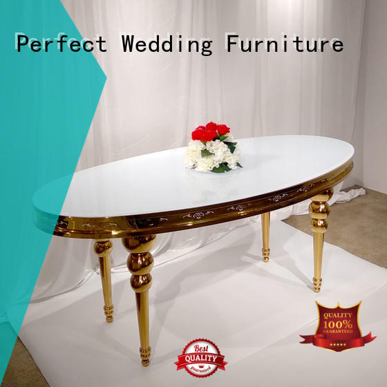 rectangle wedding table dressing designs for wedding ceremony Perfect Wedding Furniture
