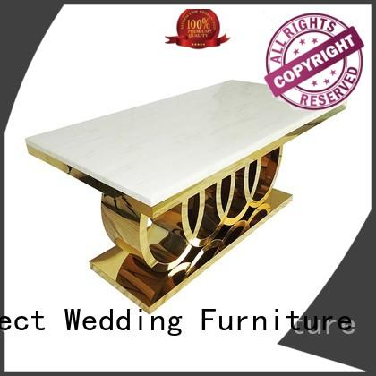 Perfect Wedding Furniture pvc wedding party table company for dining room