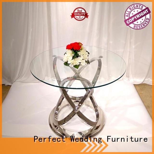 elaborate wedding reception table half with contemporary manufacturing series for hotel