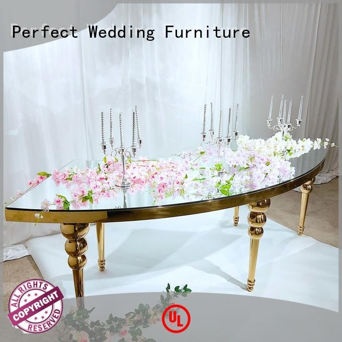 Perfect Wedding Furniture half wedding party table with contemporary manufacturing series for hotel