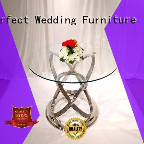 Perfect Wedding Furniture High-quality wedding party table Suppliers for dining room