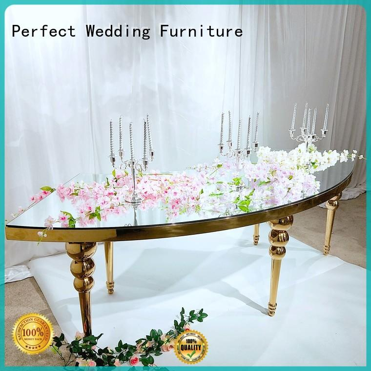 tables at weddings marble for hotel Perfect Wedding Furniture