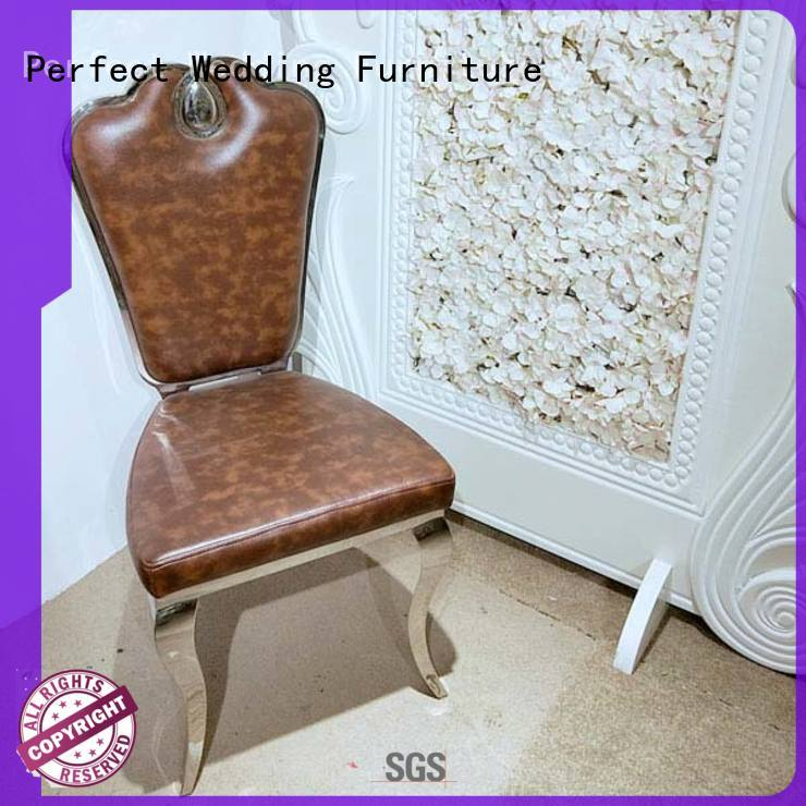 leather chair for wedding wholesale for hotel