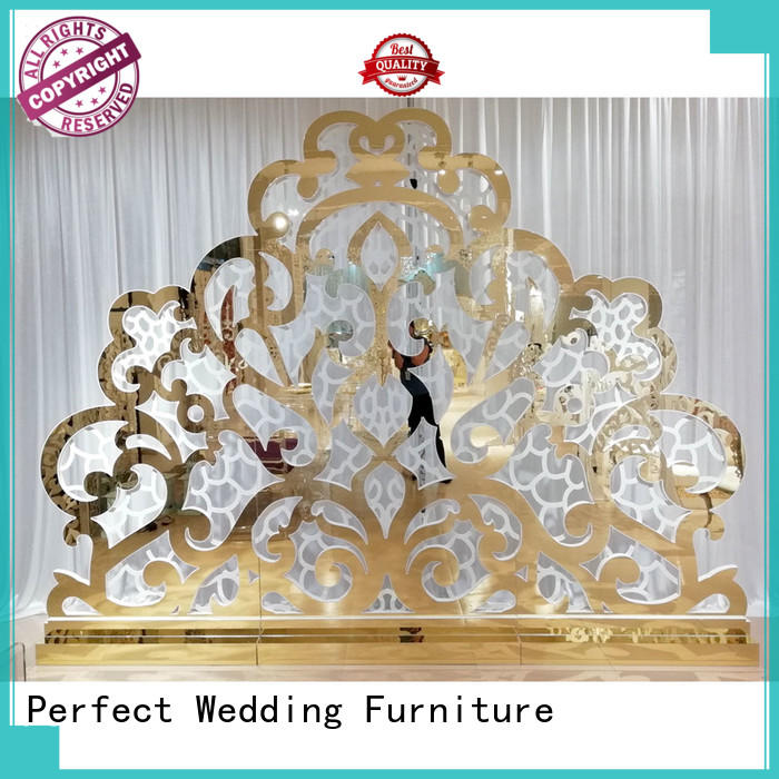 Perfect Wedding Furniture sliver decorative room dividers to accentuate the desired effect for home
