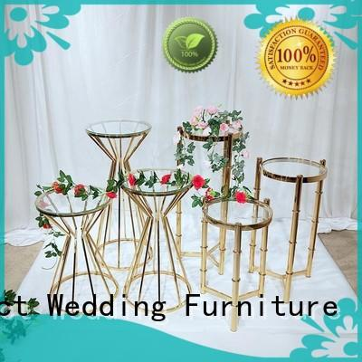 Perfect Wedding Furniture stand floral stand factory for wedding ceremony